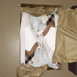 BURBERRY REETH LOW TOPS